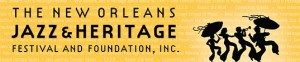 jazz and heritage festival foundation logo. banner image