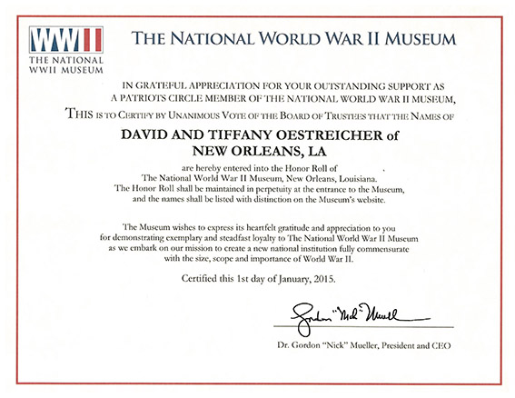 wwii-museum-honor-roll-oestreicher