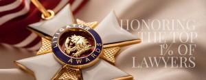 trial lawyer litigator award image